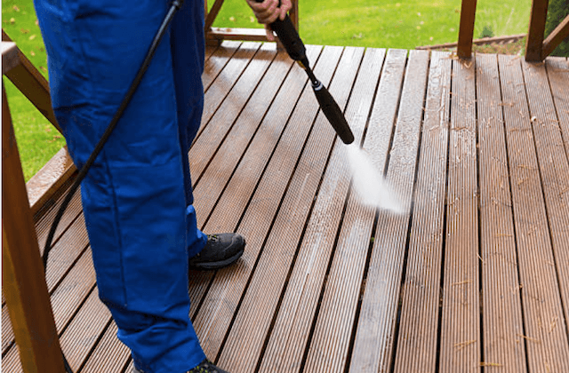 deck cleaning somerville