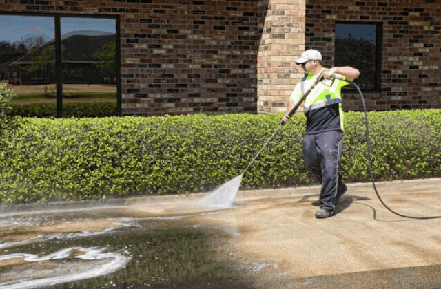 commercial concrete cleaning in somerville